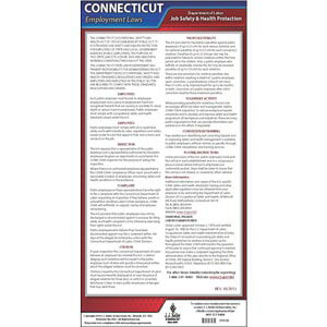 Connecticut OSHA Poster