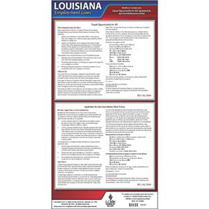 Louisiana EEO Poster