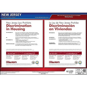 New Jersey Discrimination in Housing Poster