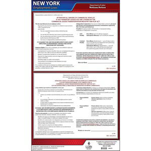 New York Transportation Industry Fair Play Act Poster