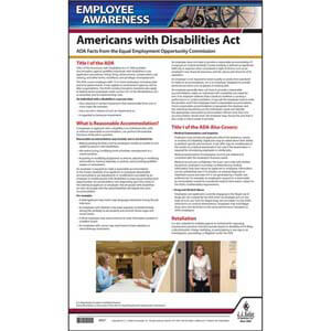 ADA - Employee Awareness Poster