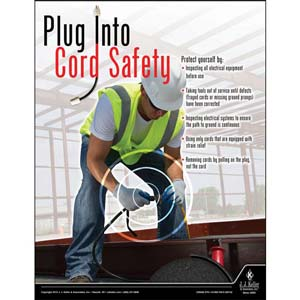 Cord Safety - Construction Safety Poster