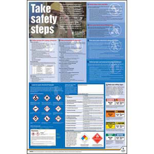 Federal Safety Poster - Take Safety Steps