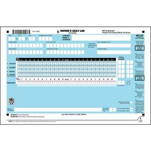 KellerSCAN® Daily Log Wall Chart