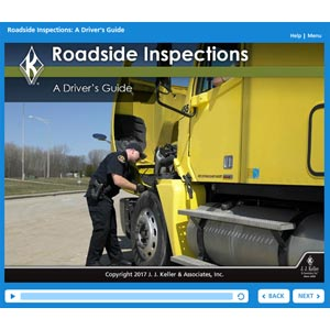 Roadside Inspections: A Driver's Guide - Online Training Course