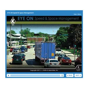 EYE ON: Speed & Space Management - Online Training Course