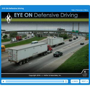 EYE ON Defensive Driving - Online Training Course