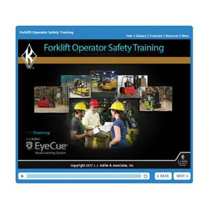 Forklift Operator Safety Training - Online Course