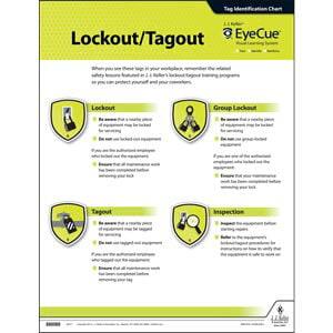 EyeCue® Lockout/Tagout Laminated Poster