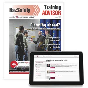 HazSafety Training Advisor Newsletter