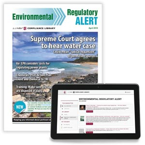 Environmental Regulatory Alert Newsletter