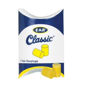 3M™ E-A-R™ Classic™ Disposable Earplugs (Uncorded), NRR29