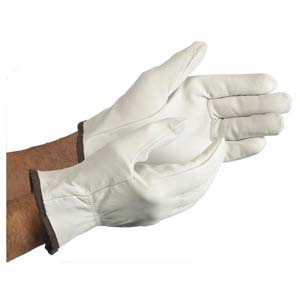 MCR Safety Premium Grain Goatskin Driver Gloves