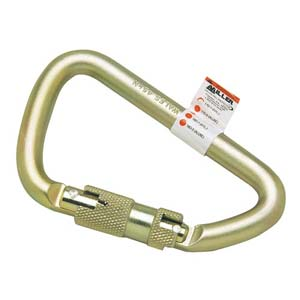 Miller® Twist-Lock Steel Carabiner