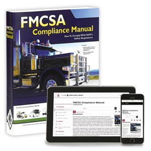 FMCSA Compliance Manual – Softbound Version + Online Edition w/ 1-Year Update Service