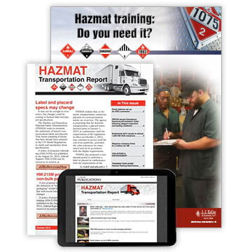 HAZMAT Transportation Report