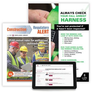 Construction Regulatory Alert Newsletter