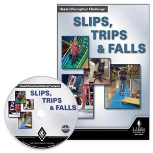 Hazard Perception Challenge Slips, Trips & Falls - DVD Training
