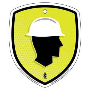 EyeCue® Tags - PPE Head Protection Reminder