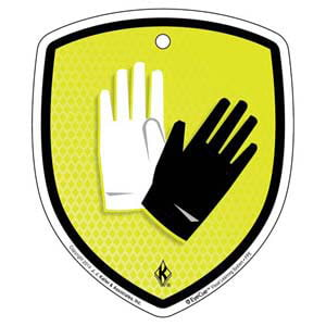 EyeCue® Tags - PPE Hand Protection Reminder
