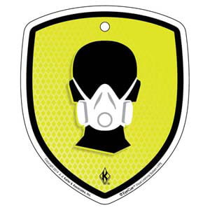 EyeCue® Tags - PPE Respiratory Protection Reminder