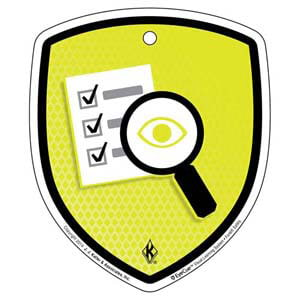 EyeCue® Tags - Forklift Inspection Checklist Reminder