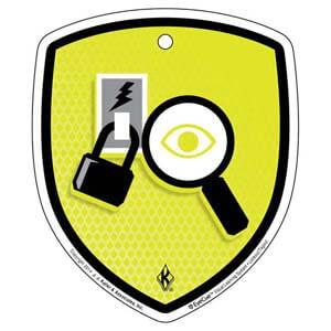 EyeCue® Tags - Lockout / Tagout Inspection Reminder