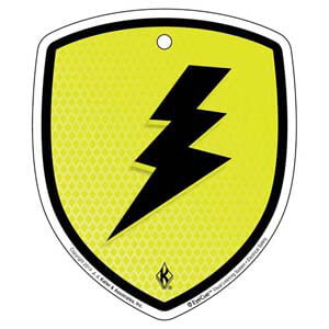 EyeCue® Tags - Electrical Safety Electric Shock Hazard Reminder