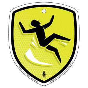 EyeCue® Tags - Slips, Trips & Falls: Slip/Fall Hazard Reminder
