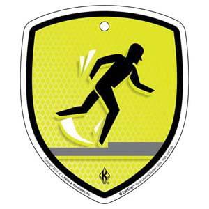 EyeCue® Tags - Slips, Trips & Falls: Trip/Fall Hazard Reminder