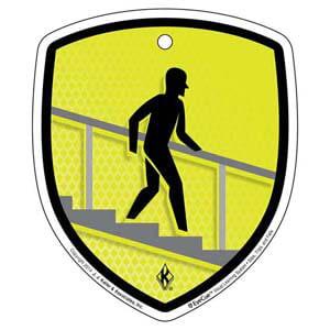 EyeCue® Tags - Slips, Trips & Falls Handrail Reminder