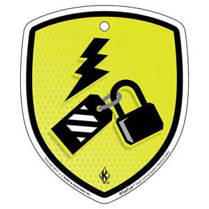 EyeCue® Tags - Electrical Safety Lockout/Tagout Needed Reminder