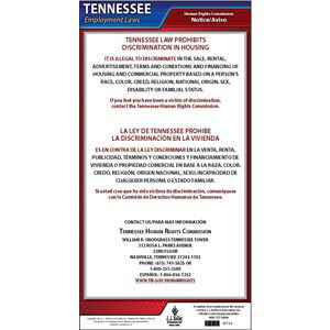 Tennessee Discrimination in Housing Poster