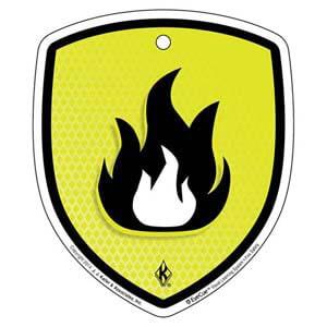 EyeCue® Tags: Fire Safety Fire Hazard Reminder