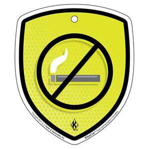 EyeCue® Tags: Fire Safety No Smoking Reminder