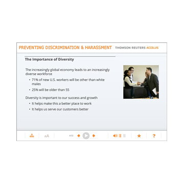 Preventing Discrimination & Harassment for Managers (California) - Online Training Course