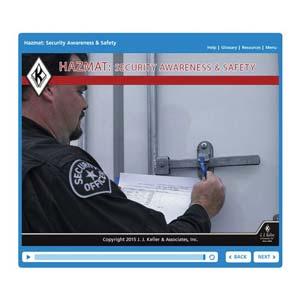 Hazmat: Security Awareness & Safety - Online Training Course