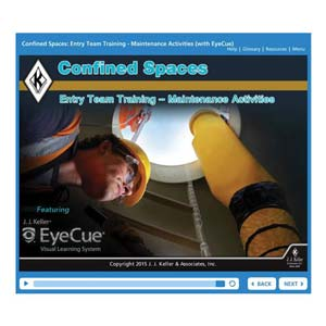 Confined Spaces: Entry Team Training - Maintenance Activities - Online Course