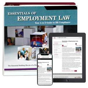 Essentials of Employment Law Manual