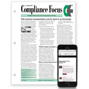 J. J. Keller's Compliance Focus