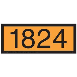 1824 Orange Panel