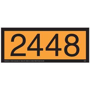 2448 Orange Panel