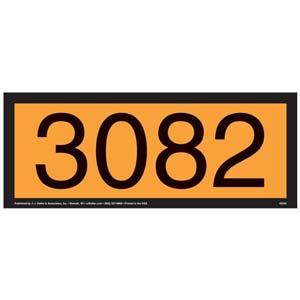 3082 Orange Panel
