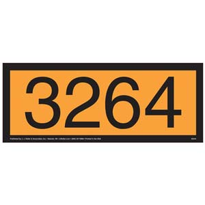 3264 Orange Panel