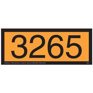 3265 Orange Panel