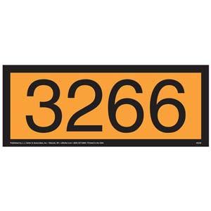 3266 Orange Panel