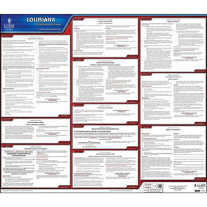 2019 Louisiana & Federal Labor Law Posters