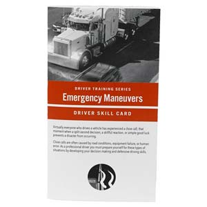 Emergency Maneuvers: Driver Training Series - Driver Skills Cards