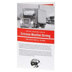 Extreme Weather: Driver Training Series - Driver Skills Cards