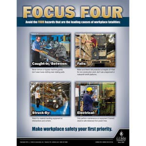 Focus Four - Workplace Safety Advisor Poster